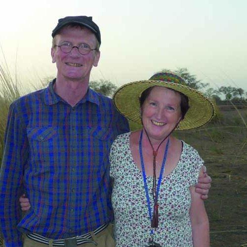 Das Ehepaar Schlott in Bolgatanga, Ghana